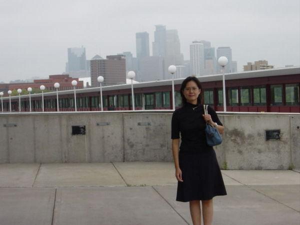 U of M w/ Minneapolis skyline