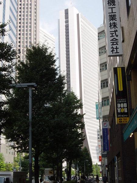 新宿大廈區