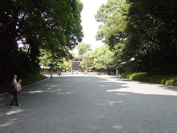 明治神宮碎石小路