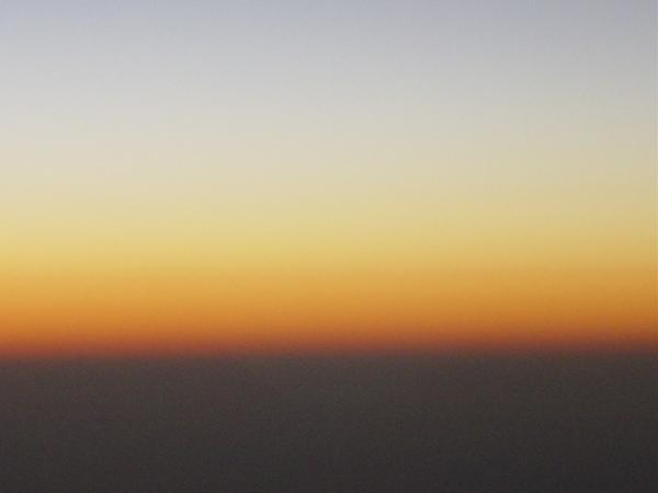 飛機上拍的天空