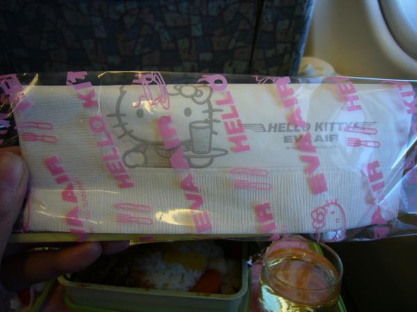 連紙巾都是Hello Kitty