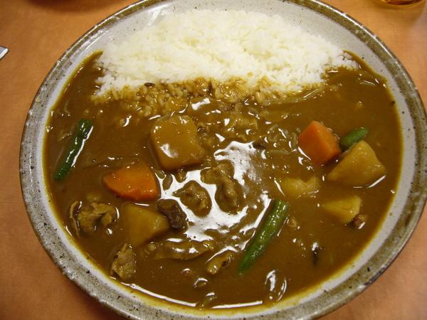 Dec 27 晚餐 -- 豬肉野菜咖哩