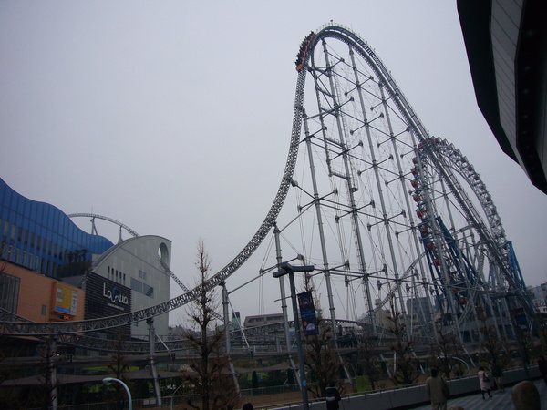 Tokyo Dome City 雲霄飛車
