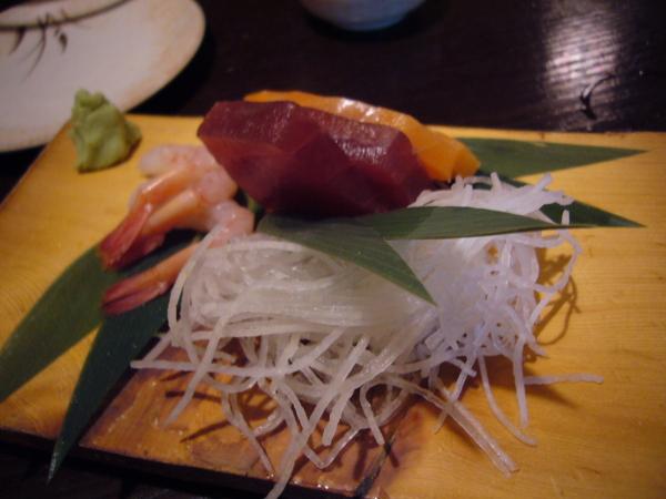 居酒屋一休 - 生魚片