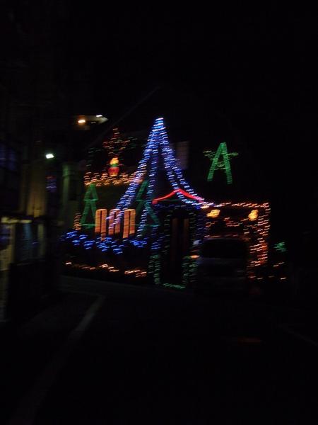 在日本也有人做聖誕節佈置耶