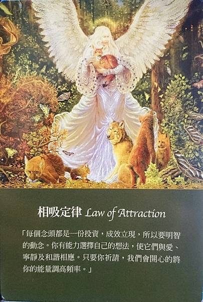 相吸定律 Law of Attraction
