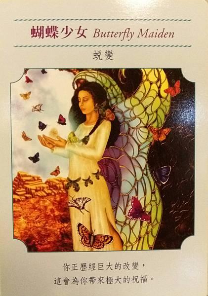 蝴蝶少女 Butterfly Maiden