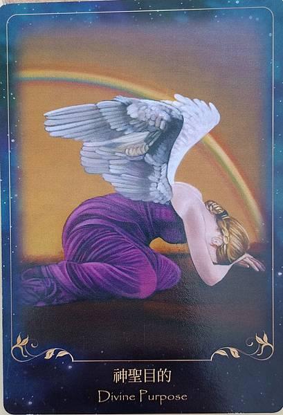 靛藍天使指引卡-神聖目的(Divine Purpose)