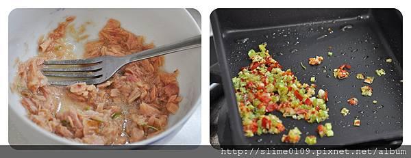 鮪魚芝麻葉義大利麵04