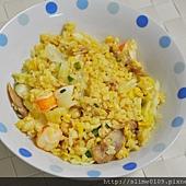 泰式風味雞肉蝦炒飯