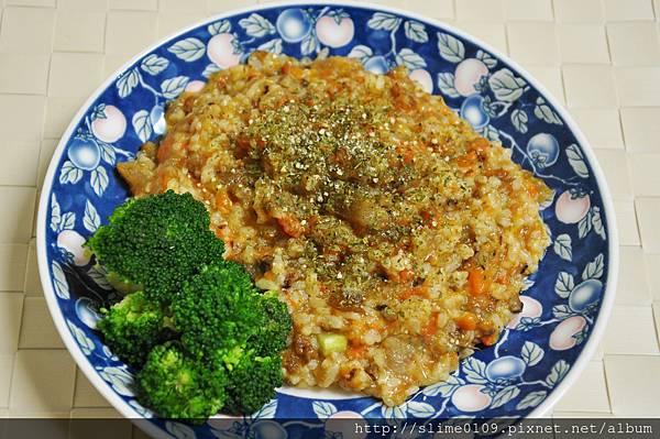 牛筋雜菜燉飯