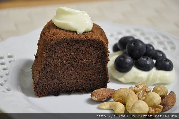 巧克力戚風蛋糕01