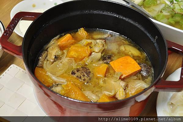 香菇南瓜燒雞