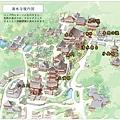 清水寺內部平面圖