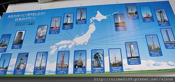 日本的塔們
