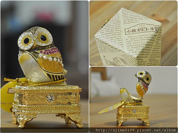貓頭鷹音樂盒