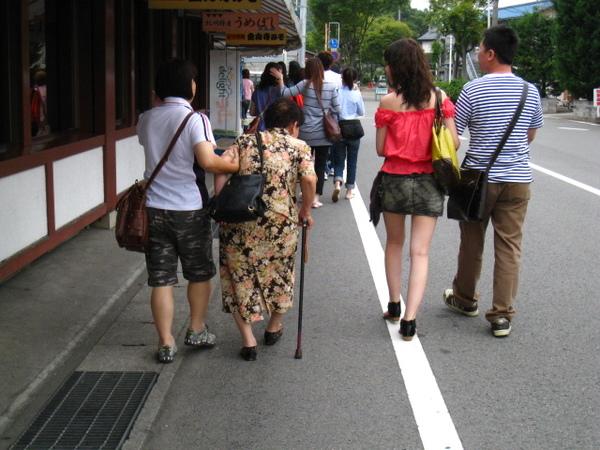 往紀三井寺的路上