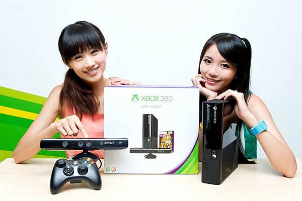 新款4GB Xbox 360+Xbox Angel
