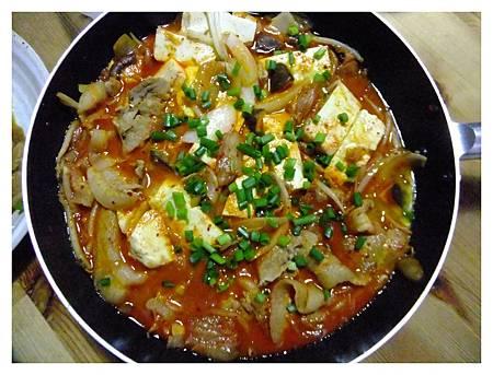 韓國風味豬肉泡菜鍋.JPG