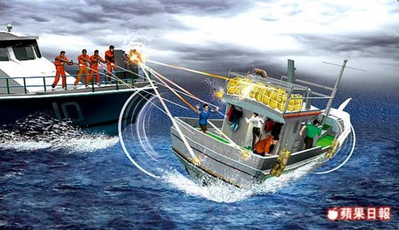 菲國漁船射殺我船
