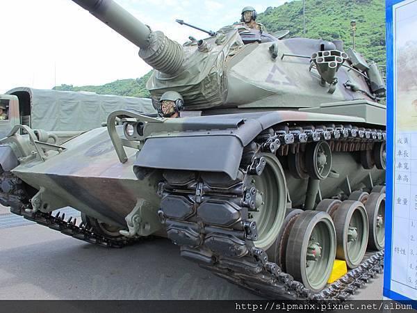 20130504蘇澳軍港開放 -demo M60A3 (8)