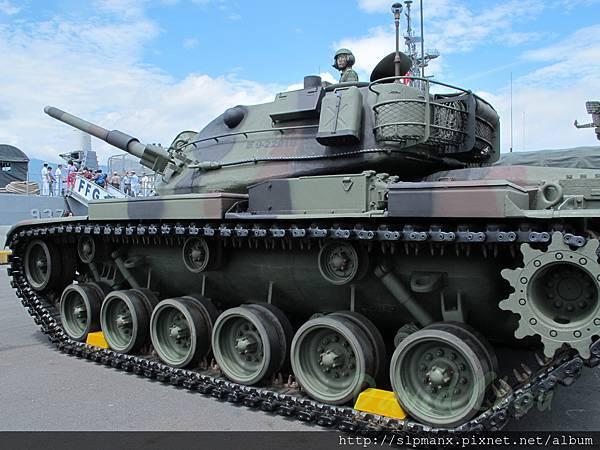 20130504蘇澳軍港開放 -demo M60A3 (14)