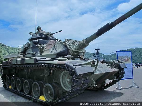 20130504蘇澳軍港開放 -demo M60A3 (31)