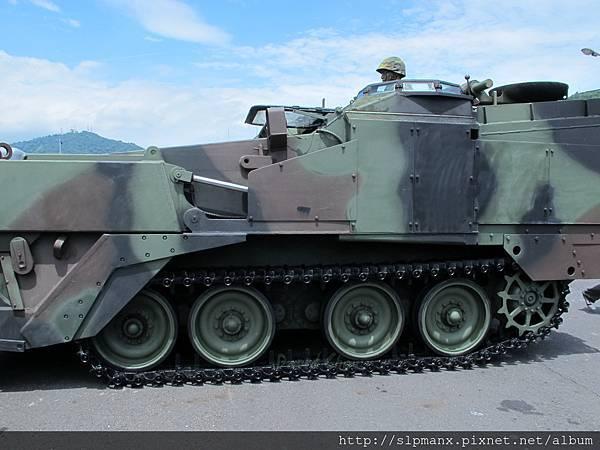 20130504蘇澳軍港開放-DEMO M9戰鬥工兵車 (3)