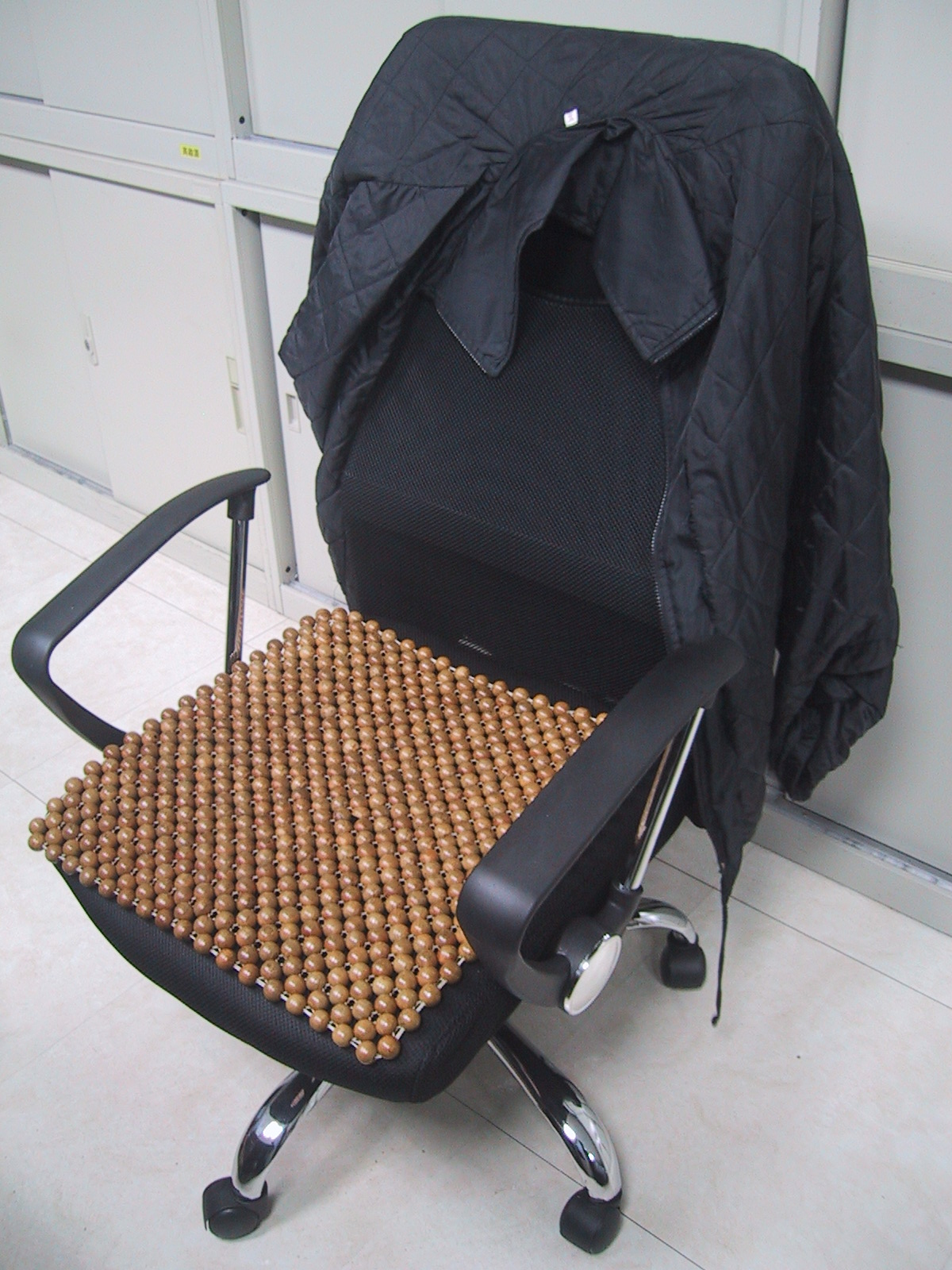 新椅子使用現況