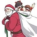 聖誕老公公來送禮啦
