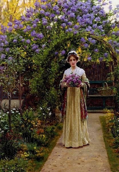 紫丁香女郎