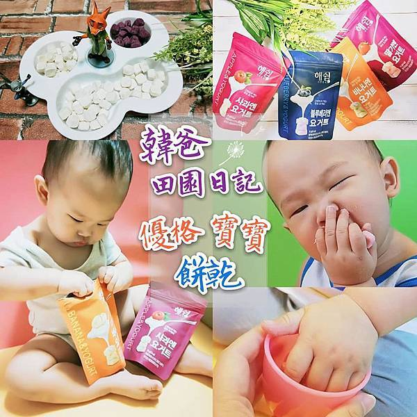 韓爸田園日記 優格寶寶餅乾 副食品 寶寶零食 推薦00.jpg