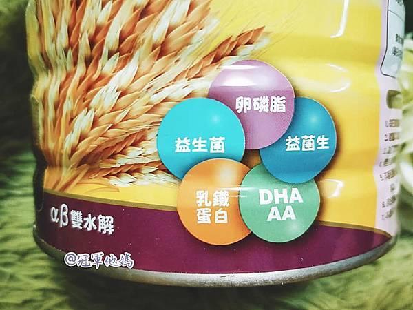 金愛斯佳 多鼓麥精 寶寶副食品 米精 金愛斯佳評價 卡洛塔妮 奶粉 益生菌 DHA AA09.jpg