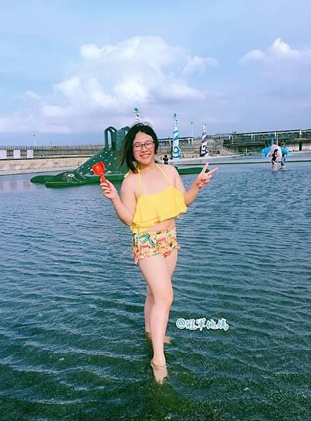 Doris Ann 朵麗絲安 網拍 親子裝 親子泳裝 嘉義東石 玩水 漁人碼頭 女裝 哺乳衣05.jpg