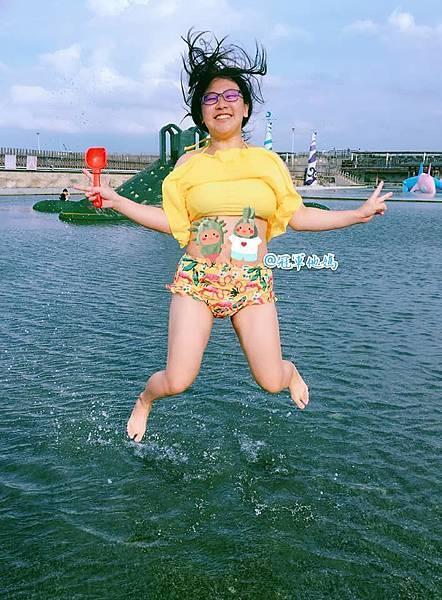 Doris Ann 朵麗絲安 網拍 親子裝 親子泳裝 嘉義東石 玩水 漁人碼頭 女裝 哺乳衣12.jpg