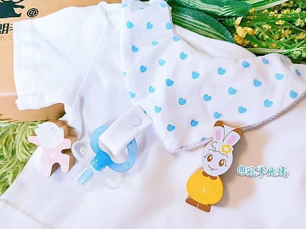 DaddyBrown 恩典寶寶 布朗老爹 會長大的包屁衣 嬰幼兒 內著 寶寶睡衣 連身裝 嬰兒 圍兜 口水巾 奶嘴鍊11.jpg