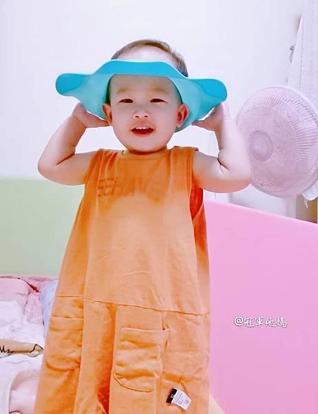 expect 傳佳知寶 babyhood 世紀寶貝 可達鴨洗頭帽 洗髮神器 洗頭神器 沐浴神器 寶寶洗澡 嬰兒洗髮16.jpg