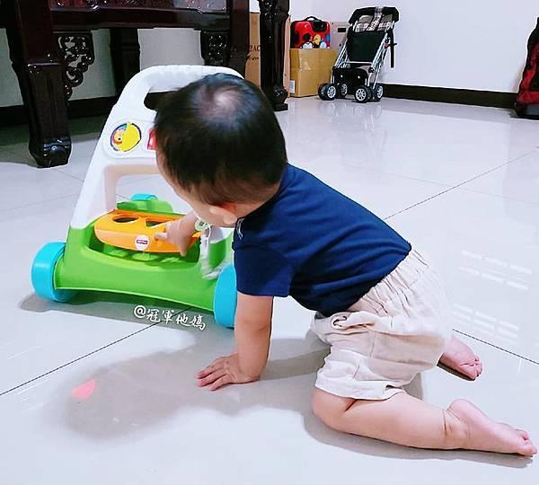 Lavida 育兒好好玩 Fisher Price FisherPrice 學步車 活動踏步車 踏步車 寶寶學步 寶寶學走 扶站 幾個月會站 寶寶站立 嬰兒用品 嬰幼兒玩具 嬰幼兒發展 周歲送禮 周歲禮物 幾個月會走 週歲 嬰兒學步22.jpg
