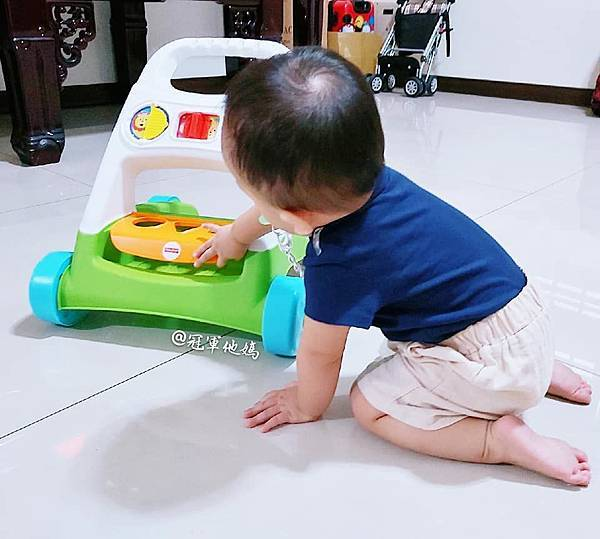 Lavida 育兒好好玩 Fisher Price FisherPrice 學步車 活動踏步車 踏步車 寶寶學步 寶寶學走 扶站 幾個月會站 寶寶站立 嬰兒用品 嬰幼兒玩具 嬰幼兒發展 周歲送禮 周歲禮物 幾個月會走 週歲 嬰兒學步25.jpg