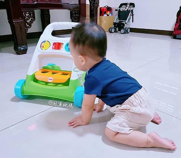 Lavida 育兒好好玩 Fisher Price FisherPrice 學步車 活動踏步車 踏步車 寶寶學步 寶寶學走 扶站 幾個月會站 寶寶站立 嬰兒用品 嬰幼兒玩具 嬰幼兒發展 周歲送禮 周歲禮物 幾個月會走 週歲 嬰兒學步24.jpg