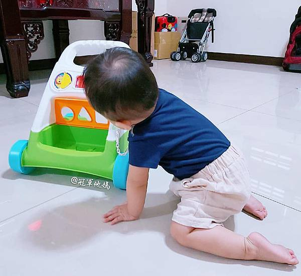 Lavida 育兒好好玩 Fisher Price FisherPrice 學步車 活動踏步車 踏步車 寶寶學步 寶寶學走 扶站 幾個月會站 寶寶站立 嬰兒用品 嬰幼兒玩具 嬰幼兒發展 周歲送禮 周歲禮物 幾個月會走 週歲 嬰兒學步27.jpg