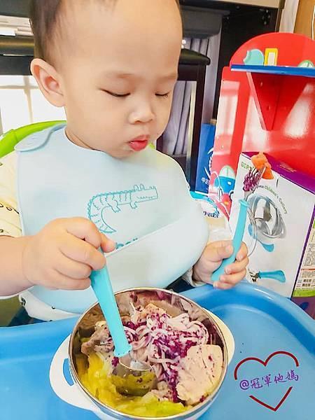 寶寶餐碗推薦Expect 傳佳知寶BERZ三件組學習吸盤碗托嬰中心幼兒園 三色碗 副食品 學習餐碗 寶寶餐具29.jpg