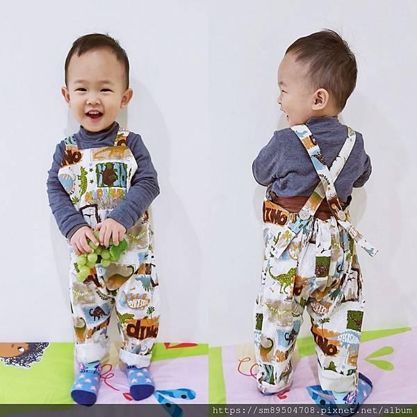 Q比芝麻 Q比寶貝芝麻 Q比芝蔴 暖心幸福手作 嬰兒圍兜 寶寶吊帶褲 帽子兜兜 手作寶寶服飾 _35.jpg