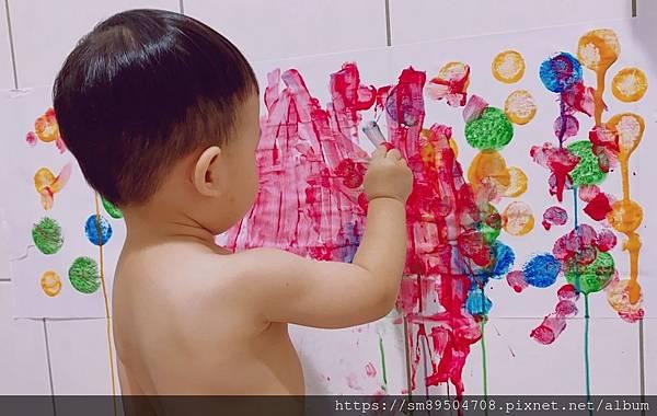 著色畫軸 N次貼 寶寶畫畫 幼兒美術教具 美勞 勞作 畫紙 空白 森林派對 昆蟲 動物 水的旅_9.jpg