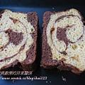 地瓜巧克力蝴蝶蛋糕麵包