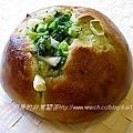三島香鬆菠菜蔥麵包