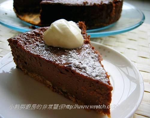 低脂薰衣草巧克力重乳酪蛋糕