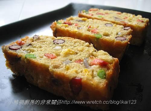 蔬菜火腿鹹蛋糕