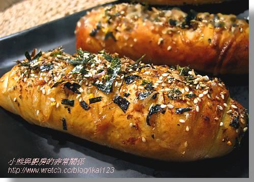 柴魚豆腐麵包