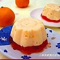 橘子乳香布丁